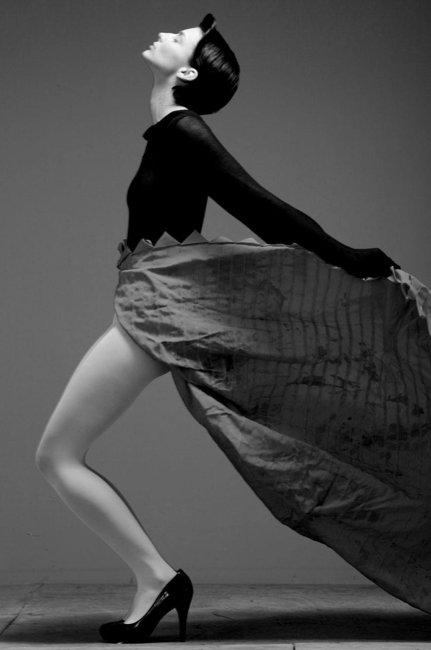 Ribbons Wrap Skirt